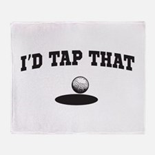 I'd tap that golf Throw Blanket