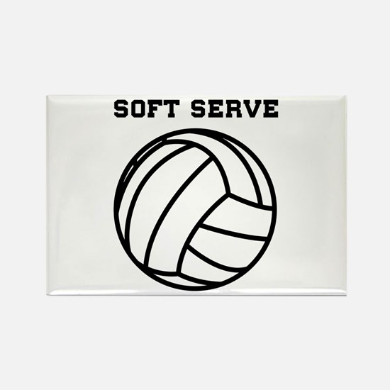 Soft serve get ice cream Magnets