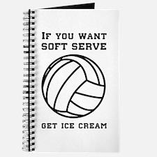Soft serve get ice cream Journal