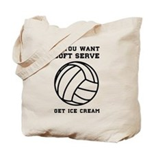 Soft serve get ice cream Tote Bag