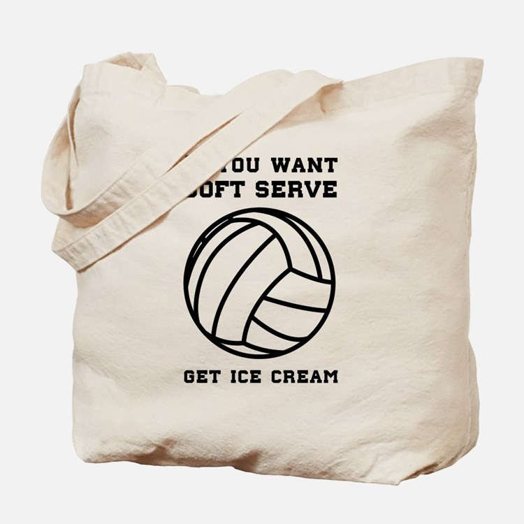 Soft serve get ice cream Tote Bag