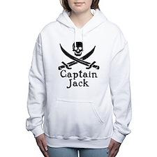 captain_jack(2).png Women's Hooded Sweatshirt