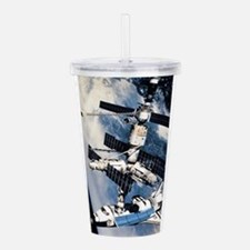 Space Station Acrylic Double-wall Tumbler