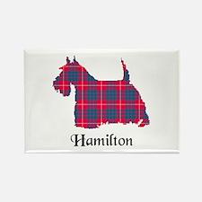 Terrier - Hamilton Rectangle Magnet