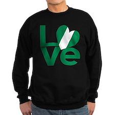 Cute Nigerian flag Sweatshirt