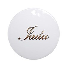 Gold Jada Round Ornament