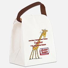 We Are Market Basket Canvas Lunch Bag