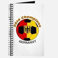 Cute German soccer Journal