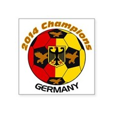 2014 Champions Germany Sticker