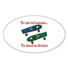 To Air Is Human Decal