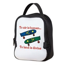 To Air Is Human Neoprene Lunch Bag