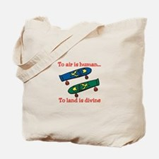 To Air Is Human Tote Bag