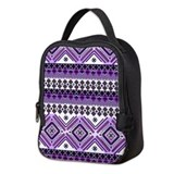 Abstract aztec Lunch Bags