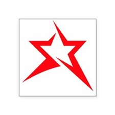 """BAWG STAR - REVERSED Square Sticker 3"""" x 3"""""""
