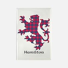 Lion - Hamilton Rectangle Magnet