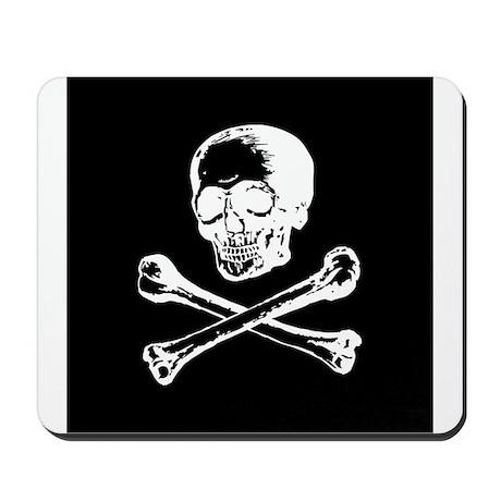 Masonic Skull and Crossbones Mousepad