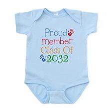 Class Of 2032 pride Infant Bodysuit