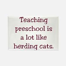 Teaching preschool is a lot like herding cats Rect