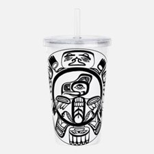Northwest Indian Folka Acrylic Double-wall Tumbler