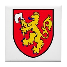 Norway: Heraldic Tile Coaster (design 2)