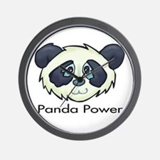 Panda Power Wall Clock