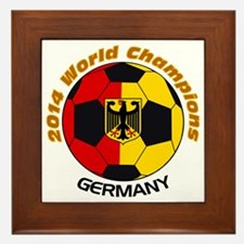 2014 World Champions Germany Framed Tile