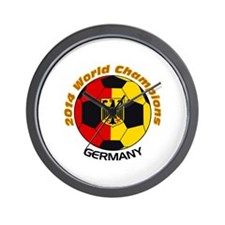 2014 World Champions Germany Wall Clock