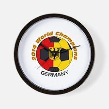 2014 World Champions Germany Wall Clock