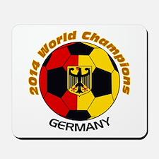 2014 World Champions Germany Mousepad