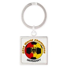 2014 World Champions Germany Square Keychain