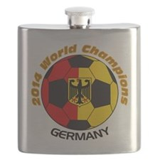 2014 World Champions Germany Flask
