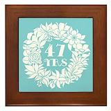 47th Framed Tiles