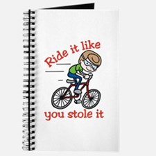 Ride It Journal