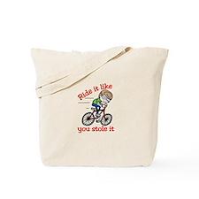 Ride It Tote Bag
