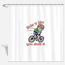 Ride It Shower Curtain