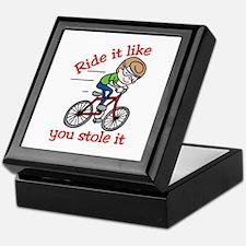 Ride It Keepsake Box