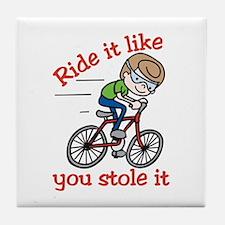 Ride It Tile Coaster