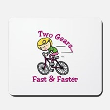 Bicycle Gears Mousepad