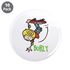 "Skate Burly 3.5"" Button (10 pack)"