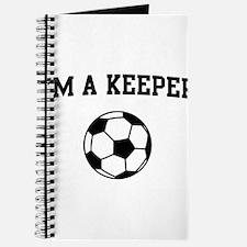 I'm a keeper soccer Journal