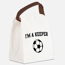 I'm a keeper soccer Canvas Lunch Bag