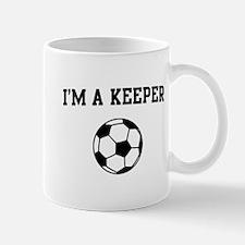 I'm a keeper soccer Mugs