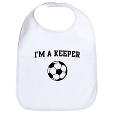 I'm a keeper soccer Bib