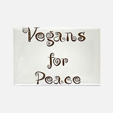 Vegan 6 Rectangle Magnet