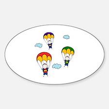 Parachute Kids Decal