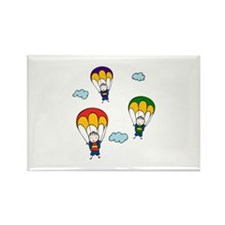 Parachute Kids Magnets