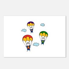 Parachute Kids Postcards (Package of 8)