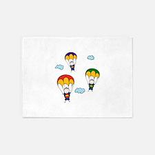 Parachute Kids 5'x7'Area Rug