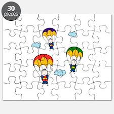 Parachute Kids Puzzle