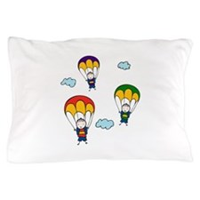 Parachute Kids Pillow Case
